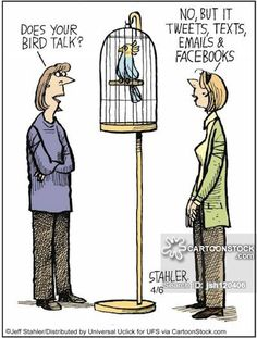 Modern Life funny cartoons from CartoonStock directory - the world's largest on-line collection of cartoons and comics. Librarian Humor, Therapy Humor, Social Media Humor, Technology Humor, Friday Humor, E Cards, Just For Laughs, Really Funny, Make You Smile