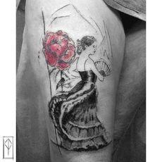 Patrizia Pozo - Ink on Sky Sketch Tattoo, Tattoo Apprentice, Sky, Tattoos, Water Well, Heaven, Tatuajes, Heavens, Japanese Tattoos
