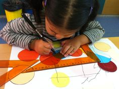 Formes i línies com Kandinsky #ideesernestines #kandinsky #racons