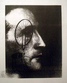 Portrait of Marcel Duchamp by Marcel Duchamp