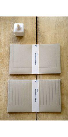 Outostusha Swallow Letter press Grid Envelope Set. by niconecozakkaya on Etsy