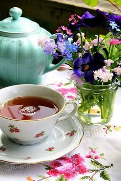 A spring cup of tea