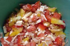 Thunfischsalat mit Tomaten