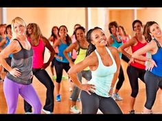 Zumba Dance Aerobic Workout - 30 Minutes Dance Classes For Weight Loss - YouTube