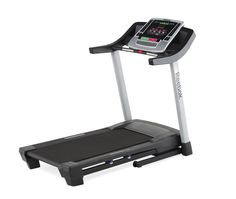"""Reebok Competitor RT 6.0 Treadmill. 2.75 CHP Drive System, 20 X 55 Inch Walking Belt, Air Shock Cushioning, Space Saver Design, Easy Lift Assist. 2 Window LED Display, 7 X 10 LED Matrix, iFit SD, iPod Compatible (2 - 2"""" Speakers), Coolaire Workout Fan. Digital Quick Speed Control 0-10mph, Digital Quick Incline Control 0-10%, Custom Weight Loss Workout Center (Calories & Weight Entry). 16 Preset Workout Apps (Calorie, Timed, Distance), EKG Grip Pulse, Wireless Chest Strap Compatible, 325lb..."""