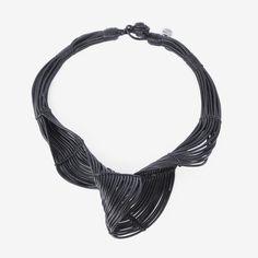 HAVA Black Small Necklace