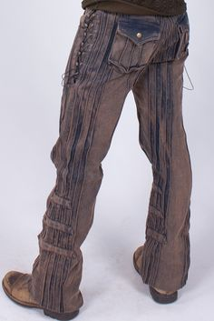 Mens Steampunk Burner Pants, by Phoenix Rising Designs