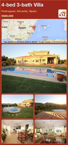 4-bed 3-bath Villa in Pedreguer, Alicante, Spain ►€680,000 #PropertyForSaleInSpain
