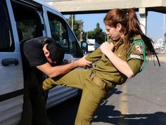Israel Defense Force self defense guide - good info. to know