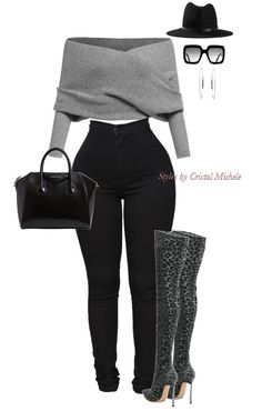 Stylish outfit idea to copy ♥ For more inspiration join our group Amazing Things ♥ You might also like these related products: - Sandals ->. Cute Swag Outfits, Classy Outfits, Sexy Outfits, Stylish Outfits, Fall Outfits, Fashion Outfits, Modest Fashion, Fashion Tips, Fashion Mode