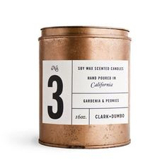 Very cool copper packaging and label