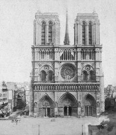 Notre Dame de Paris, France posters & prints by Photographic Company What Is Expressionism, Ribbed Vault, Paris Images, Gothic Architecture, 12th Century, Kirchen, Paris France, History, City