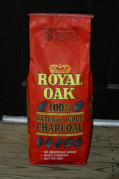 Review of Royal Oak Lump Charcoal -- Naked Whiz Ceramic Charcoal Cooking
