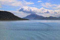 Cruising along Glacier Bay, Alaska
