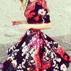I'm not a #floralprint fan, but I can't deny this is refreshing. #fashion #feminine #springtime