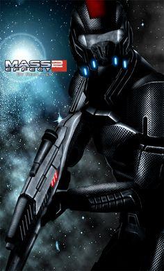 Mass Effect 2 Shepard (2010) by ~RedLineR91 on deviantART
