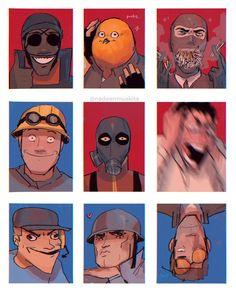 Tf2 Funny, Stupid Funny Memes, Funny Comics, Team Fortress 2 Medic, Tf2 Memes, Team Fortess 2, Popee The Performer, City Folk, Farm Boys