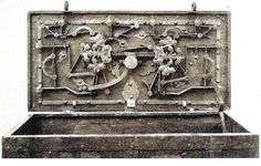 Sixteenth and seventeenth century money chests and cash boxes - Money chests - Historical locks
