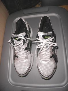 ASICS Gel Platinum 3 T94CQ White/Black/Silver/Lm GrnSneakersr Shoes Men's 11.5 #ASICS #GelPlatinum3