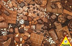 Chocolate, a 1000-pc Piatnik jigsaw puzzle, found in KickAss Crazy at Kickasspuzzles.com.