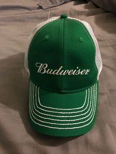 a2c6760a4ea Budweiser St. Patricks Day Hat  fashion  clothing  shoes  accessories   mensaccessories