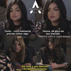 Pretty Little Liars Vampire Diaries Poster, Vampire Diaries Memes, Prety Little Liars, Pll Memes, Shay Mitchell, Ashley Benson, Series Movies, I Am Scared, Videos Funny