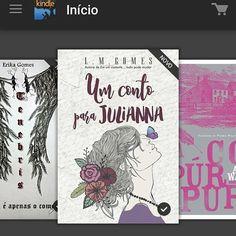 Acordei cedo e fiquei mal humorada, ai aproveitei que o filhote ainda dormia e escolhi algum conto que estava me esperando no Kindle (do celular). Li em menos de uma hora Um conto para Julianna e fiquei apaixonada. Essa capa é super amor e a história é uma fofura. Adorei minha primeira experiência com a escrita da L. M. Gomes.  #VePeB #InstaLiterário #Livros #Books #LiteraturaNacional #UmContoParaJulianna #Kindle #AmazonMeNota #LMGomes