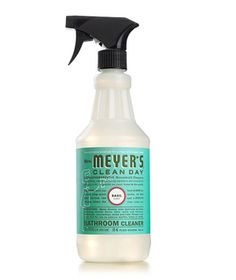 Mrs. Meyer's Clean Day bathroom cleaner in Basil