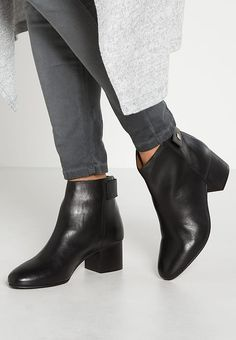 BONNET - Ankle boot - black - Zalando.pl