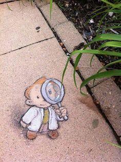Arte Urbano | chalk art