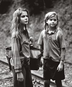The Walking Dead season 4 ep10 Mika & Lizzie- We're gonna miss you guys... Well, we're gonna miss Mika. Sorry Mika, your sister was crazy & needed to go!