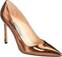 Manolo Blahnik Specchio BB Pumps - Pump - Barneys.com