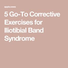 5 Go-To Corrective Exercises for Iliotibial Band Syndrome — NASM Fitness Iliotibial Band Syndrome, It Band Syndrome, Muscle Imbalance, Exercises, Fitness, Exercise Routines, Excercise, Work Outs, Workout