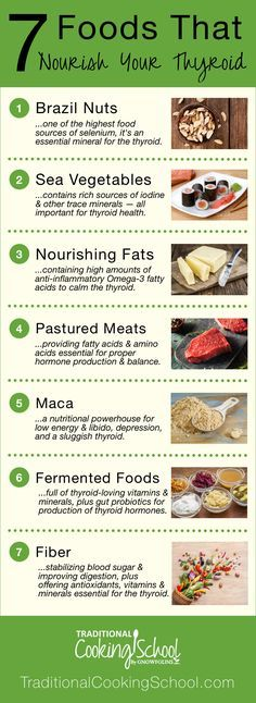 7 foods that nourish your thyroid