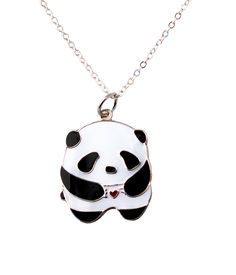 I heart U Panda Necklace