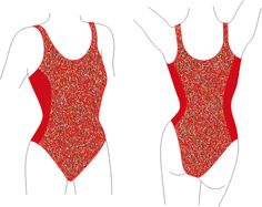 DIY Swimsuit patterns - The Princess Line Maillot « Pattern School