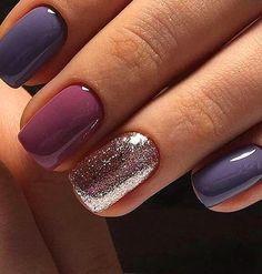 Gris Y Rosa Palo Dani Likes En 2019 Pinterest Nails Nail