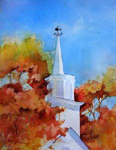 $125 unframed  God Must Love Color