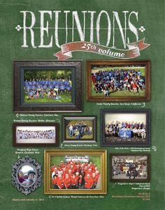 The second issue of our volume features many and varied reunions, particularly family and military, which we hope will inspire you and give you new ideas for your own reunion planning. A focus of this issue is fundraising including quilts and co. Custom Logo Design, Custom Logos, Class Reunion Decorations, School Reunion, The Gathering, Fundraising, Family Reunions, Quilt Patterns, How To Memorize Things