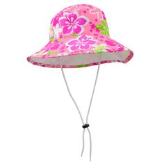 93fba8778a8 HIBISCUS by TUGA   Sun Protective and Super Vibrant Girl s Reversible  Bucket Hat with Wide Brim