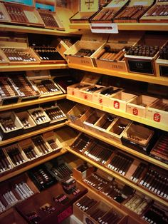 Surroundings Manistee, Michigan walk in humidor #Cigars