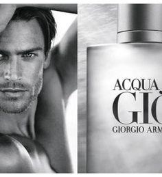 Jason Morgan Poses for Close-up for Giorgio Armani Acqua Di Gio Fragrance Campaign