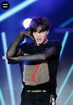 Kai - 150524 2015 Lotte Duty Free Family Festival K-pop Concert Credit: Teleport Power. (2015 롯데면세점 패밀리페스티벌 케이팝 콘서트)