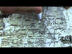 asemic writing in the woods_part5 - YouTube