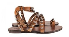 Shop online the exclusive sale in Pedro Garcia designer shoes and bags Flat Gladiator Sandals, Brown Leather Sandals, Online Sales, Designer Shoes, Grid, Flats, Shopping, Fashion, Pedro Garcia