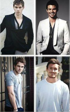 The Original Brothers *I hope Kol & Finn resurrect* Klaus (Joseph), Elijah (Daniel), Kol (Nathaniel) & Finn (Casper)
