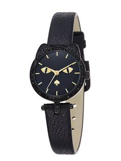 cat's meow watch by kate spade new york