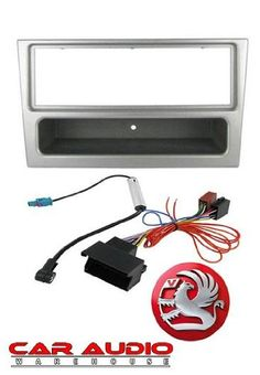 From 9.28 T1 Audio T1-ctk1901s - Vauxhall Astra H 2005 Onwards Complete Car Stereo Fitting Kit. Silver Single Din Facia Release Keys Iso Aerial Adaptor.