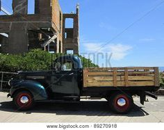 Photograph of vintage truck at Alcatraz. Photographs by Sharon Patterson may be PURCHASED at: http://1-sharon-patterson.fineartamerica.com AND http://canstockphoto.com/stock-image-portfolio/SharonPatterson AND http://www.bigstockphoto.com/search/?contributor=Sharon%20Patterson&safesearch=n