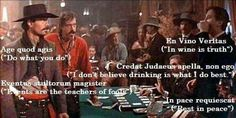 """Tombstone """"Evidently Mr Ringo is an educated man. Now I really hate him. Tombstone Movie Quotes, Tombstone 1993, Best Action Movies, Great Movies, Men Quotes, People Quotes, Doc Holliday Tombstone, Val Kilmer, Favorite Movie Quotes"""